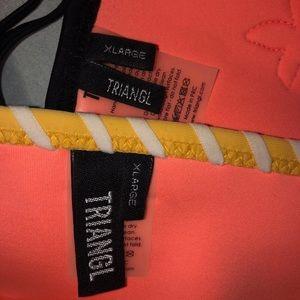 triangl swimwear Swim - Triangl bikini with bag